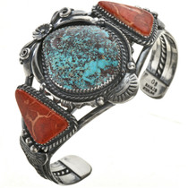 Turquoise Coral Bracelet