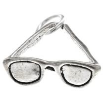 Sterling Silver Sunglasses Charm Bracelet Pendant Necklace