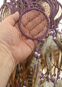 Purple Spiderweb Dreamcatcher 27298