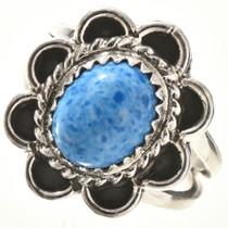Denim Lapis Silver Ring