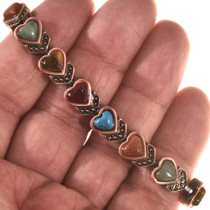 Heart Copper Tennis Bracelet 28739