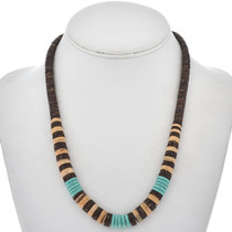 Turquoise Shell Navajo Necklace 29275