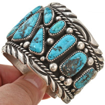 Genuine Bisbee Turquoise Watch Cuff 29926