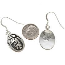 Navajo Sterling Earrings 29940
