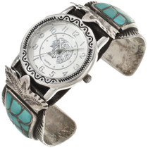 Turquoise Ladies Watch Cuff 29949