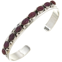 Ruby Silver Ladies Bracelet 29950