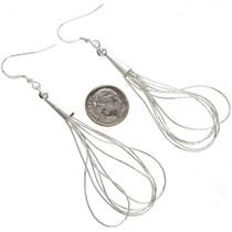Navajo Silver Earrings 29958