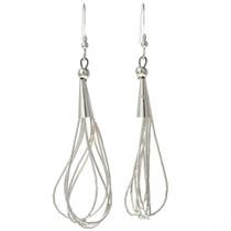 Liquid Silver Earrings 29959