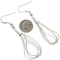 Navajo Silver Earrings 29959