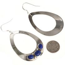 Lapis Lazuli Navajo Earrings  29991