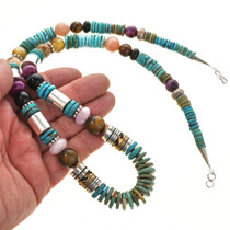 Tommy Rose Singer Handmade Navajo Beaded Necklace 30004