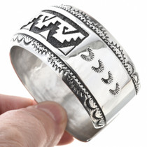 Overlaid Sterling Silver Navajo Pattern 30027