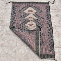 Original Navajo Raised Outline Wool Rug 30069
