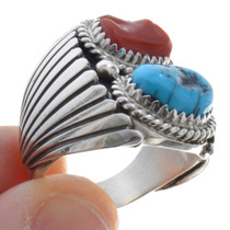 Turquoise Sterling Silver Ring 30129