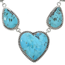 Turquoise Heart Necklace -30193