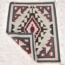 Vintage Two Grey Hills Wool Rug 30200
