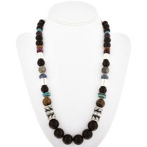 Tommy Rose Singer Onyx Bead Necklace 30204