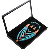 Old Native American Turquoise Heishi Necklace 30261