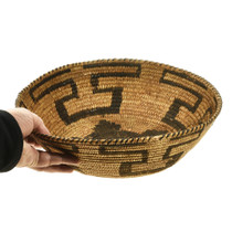 Authentic Hand Woven Papago Basket 30267