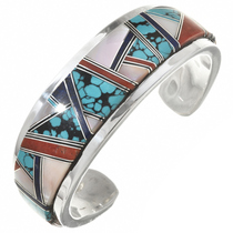 Vintage Turquoise Native American Bracelet 30305