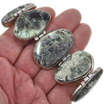 Vintage Damele Turquoise Link Bracelet 30333