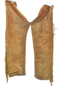 Vintage Buckskin Leggings 30349