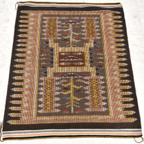 Navajo Raised Outline Wool Rug 30350