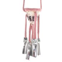 Dusty Rose Miniature Apache Burden Basket 30384