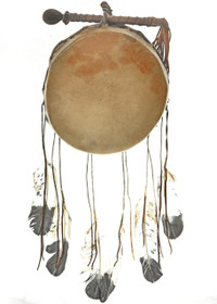 Indian Rawhide Pow Wow Drum 30422