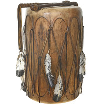 Indian Rawhide Pow Wow Drum 30423