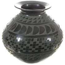 Black Green Pottery 0105