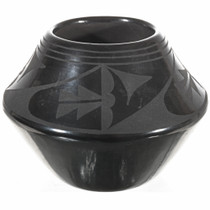 Small Blackware San Ildefonso Pottery 0007