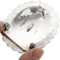 Hammered Sterling Silver Belt Buckle 833