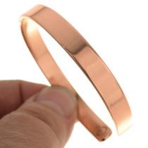 Magnetic Copper Cuff Bracelet Larger Wrist Sizes 30528