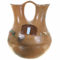 Old Navajo Wedding Vase 30554