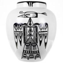 Hopi Tewa Eagle Pottery 30558