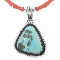 Sleeping Beauty Turquoise Pendant 30565