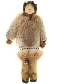 Vintage Alaskan Eskimo Handmade Doll 30568