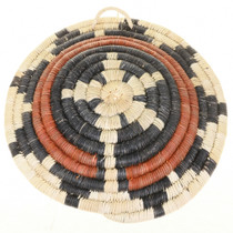 Hand Woven Hopi Indian Wedding Basket Second Mesa