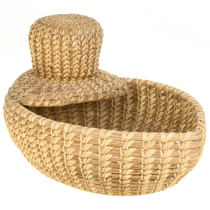 Papago Tohono O'odham Duck Basket 30583
