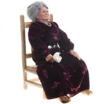 Realistic Collectible Navajo Woman Figure 30584