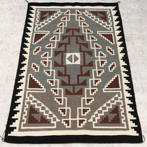 Native American Navajo Wool Rug 30613