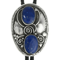 Sterling Silver Lapis Bolo Tie 30660