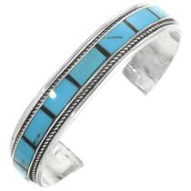 Vintage Turquoise Sterling Bracelet 30665
