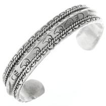 Sterling Silver Bear Bracelet 30668