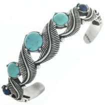 Vintage Silver Turquoise Bracelet 30689