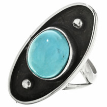 Vintage Turquoise Native American Ring 30706