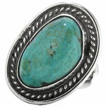 Vintage Navajo Turquoise Ring 30708