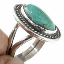 Old Pawn Navajo Made Sterling Silver Ring 30708