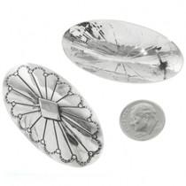 Hand Made Sterling Silver Earrings Pueblo Artist Evelyn Jiron 30723